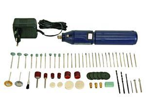 Wiertarka mini akumulatorowa z zestawem akcesoriów 62SZT - 2060686712