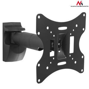 "Uchwyt do telewizora  lub  monitora 10-37"" 30kg uniwersalny Maclean MC-502A B czarny max vesa 200x200 - 2060686782"