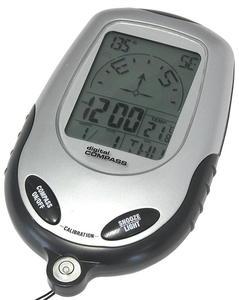 Kompas elektroniczny z zegarem i budzikiem - 2060688622