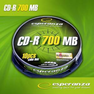 Płyta CD-R Esperanza 700MB bez opakowania - 2060688809