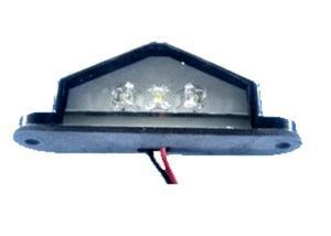 Lampa LED KW-300 biała 12V trójkątna - 2060688824