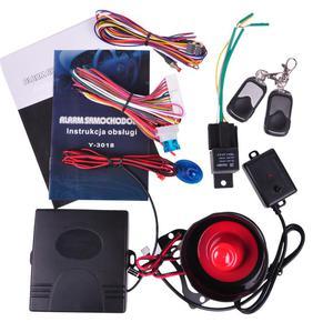 Alarm samochodowy Y-3018 z homologacją - 2060689980