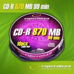 Płyta CD-R 870mb Esperanza bez opakowania - 2060690137