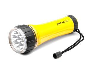 Latarka 7 LED 7*0,2W 2*R20 Nemo-7L Wodoodporna - 2060692075