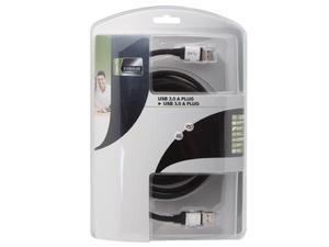 Kabel USB 3.0 - wtyk A na wtyk A / PROFESJONALNY / 2.5m - 2060694102