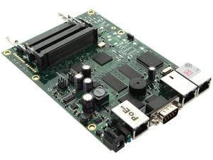 Router Board RB433/ CPU 300MHz/ 64MB RAM/ 3x LAN/ 3x mPCI/ Router OS L4 - 2060695164