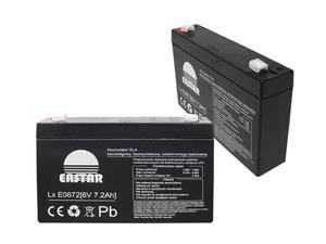 Akumulator żelowy 6V 7,2Ah Eastar - 2060695243