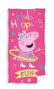 Ręcznik Świnka Peppa 70x140 Hula Hop Carbotex - 2848945442