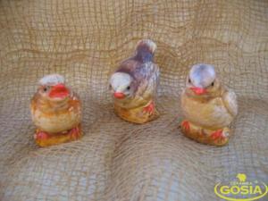Wróble - figurka ceramiczna ogrodowa - 2847431707