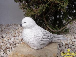 Wróbel duży - figurka ceramiczna ogrodowa - 2847431709