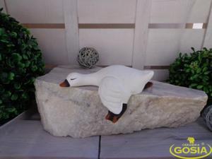 Gąska regałowa mała - figurka ceramiczna - 2847923459