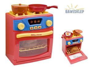 Kuchnia dla lalek kuchenka z piekarnikiem światło i dźwięk - 2823154094