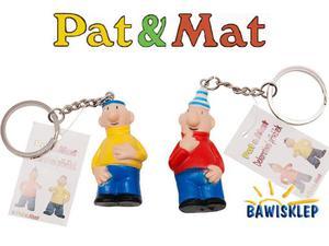 Brelok do kluczy Pat (żółty) i Mat (czerwony) - 2841552448