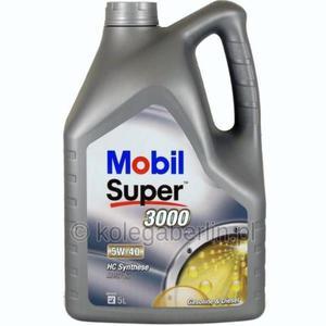 Mobil Super 3000 X1 5W40 5L niemiecki - 2855987216