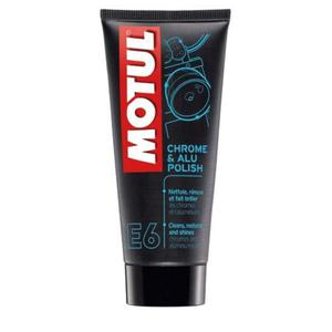 Motul E6 Chrome & Alu Polish 100ml - 2855987370