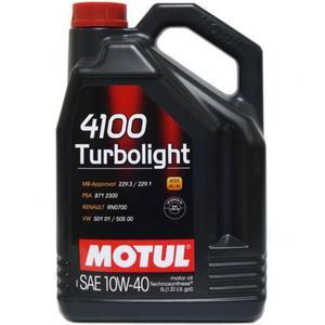 Motul 4100 Turbolight 10W40 5L - 2855987876