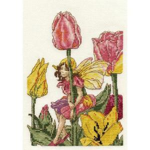 Zestaw DMC Flower Faires - BL1005.56 Tulipanowa Wróżka - 2863510550