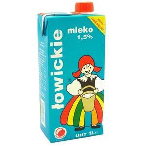 Mleko ŁOWICKIE 1l. 1,5% op.12 - 2847291150
