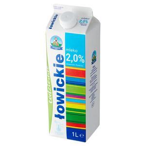 Mleko ŁOWICKIE 1l. 2% op.12 - 2847291151