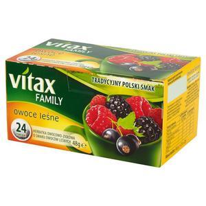 Herbata eksp. VITAX Family - owoce leśne op.20 - 2847291211