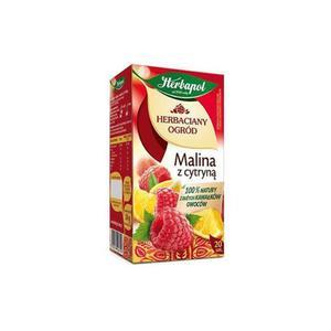 Herbata eksp. HERBAPOL Ogród - malina cytry. op.20 - 2847291214