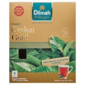 Herbata eksp. DILMAH Ceylon Gold 100 kopert - 2847291217