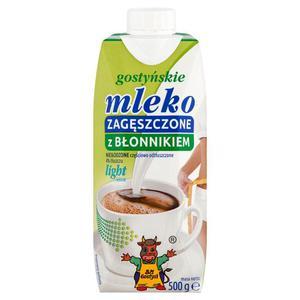 Mleko zagęszczone Gostyń 500g. Light z błonnikiem - 2847291252