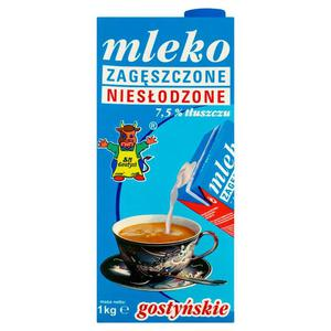 Mleko zagęszczone Gostyń 1000g. - 2847291254