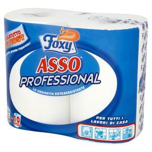 Ręcznik kuchenny FOXY Asso Professional op.2 rolki - 2847291286