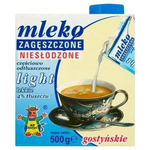 Mleko zagęszczone Gostyń 500g. Light - 2847291513
