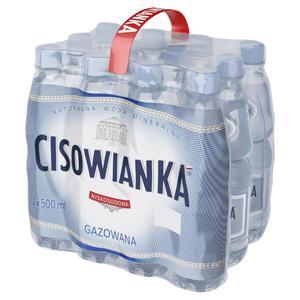 Woda CISOWIANKA op.12 0,5l. - gazowana - 2847291515