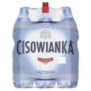 Woda CISOWIANKA op.6 1,5l. - gazowana - 2847291516