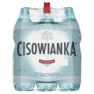Woda CISOWIANKA op.6 1,5l. - niegazowana - 2847291518