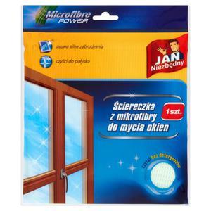 Ściereczka JAN NIEZBĘDNY do okien z mikrofibry - 2847291673