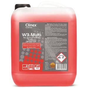 Płyn CLINEX do łazienek W3 multi 5L. - 2847291778
