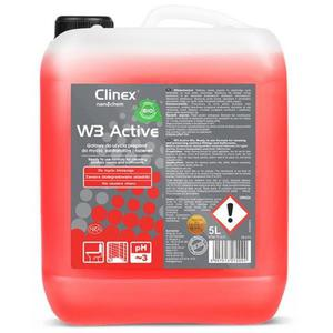 Płyn CLINEX do łazienek W3 activ 5L. - 2847291785