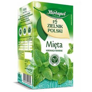 Herbata eksp. HERBAPOL Zielnik - mięta op.20 - 2847291907