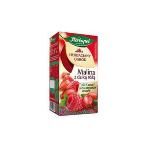 Herbata eksp. HERBAPOL Ogród - malina dz.róż op.20 - 2847291914