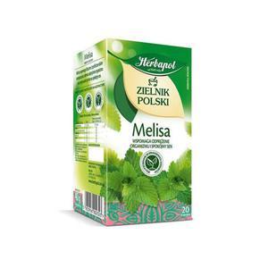 Herbata eksp. HERBAPOL Zielnik - melisa op.20 - 2847291918