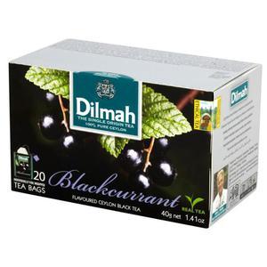 Herbata eksp. DILMAH - czarna porzeczka op.20 - 2847291966