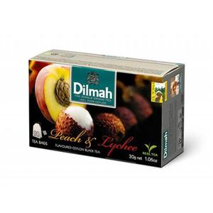 Herbata eksp. DILMAH - brzoskwinia i lychee op.20 - 2847291971