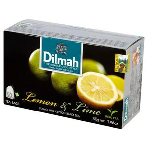 Herbata eksp. DILMAH - cytryna i limonka op.20 - 2847291973