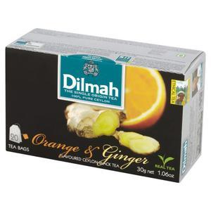 Herbata eksp. DILMAH - pomarańcz i imbir op.20 - 2847291976