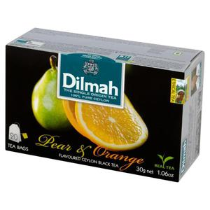 Herbata eksp. DILMAH - gruszka i pomarańcz op.20 - 2847291980