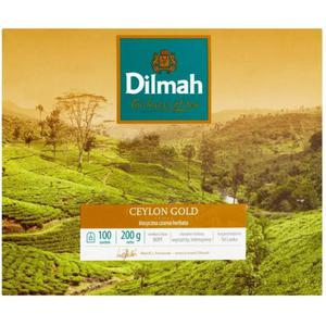 Herbata eksp. DILMAH Ceylon Gold 100tor. - 2847291989