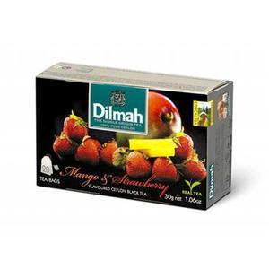 Herbata eksp. DILMAH - mango z truskawką op.20 - 2847291996