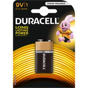 Bateria DURACELL 9V K1 - 2847292182