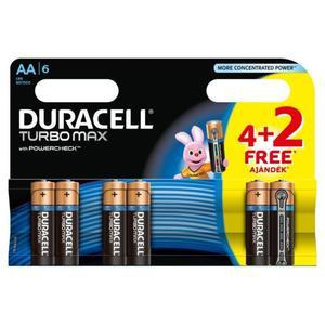 Bateria DURACELL Turbo AA LR6 op.4 + 2 free - 2847292183