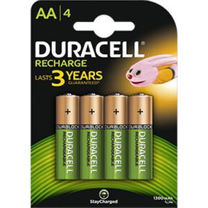 Akumulatorki DURACELL AA 2400mAh op.4 - 2847292186
