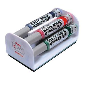 Marker PENTEL suchościeralny MWL5M-4N kpl.4szt. - 2825401687